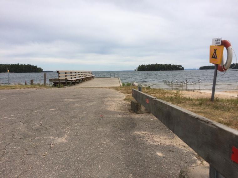 Karlsborgs sista utpost.