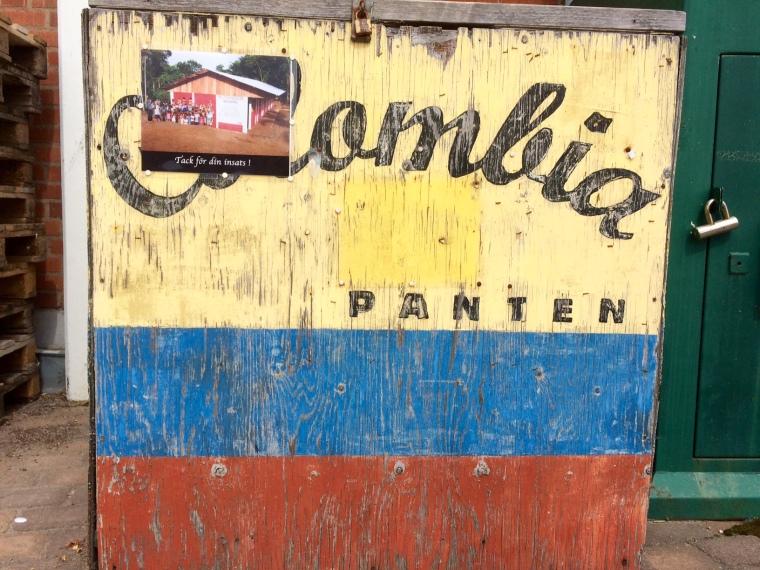 Colombia-panten i Karlsborg.